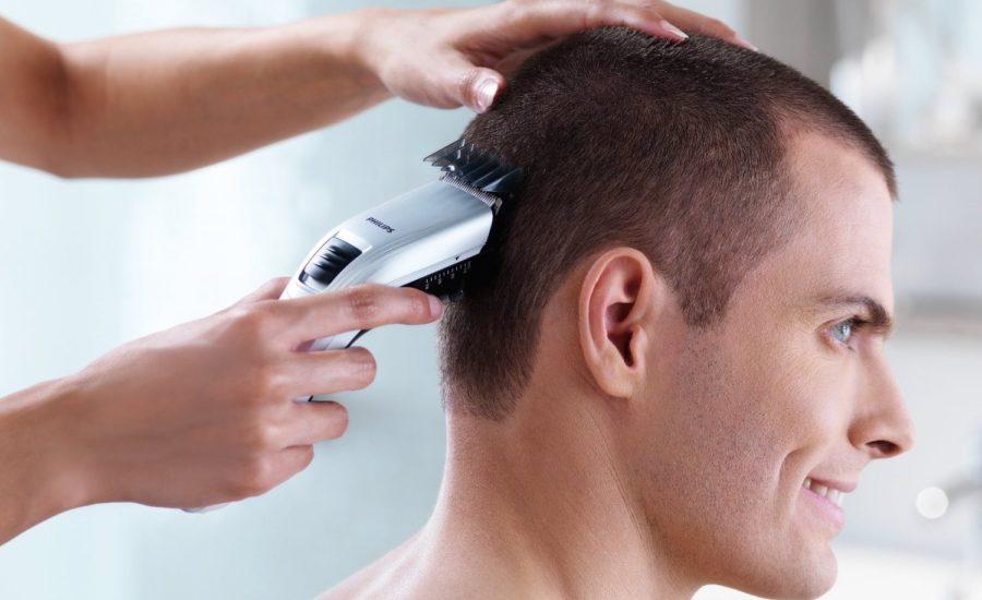 Maquina cortar pelo uno mismo