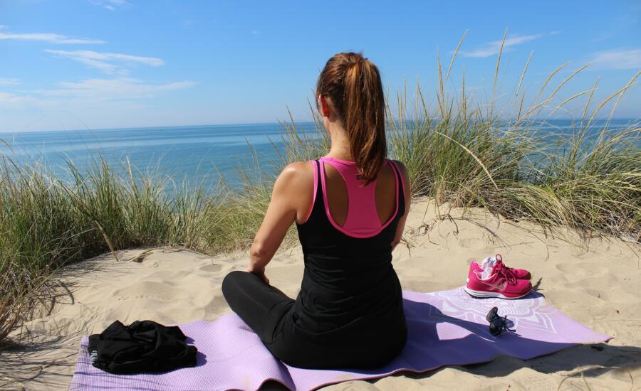 la meditación te ayuda a perder peso
