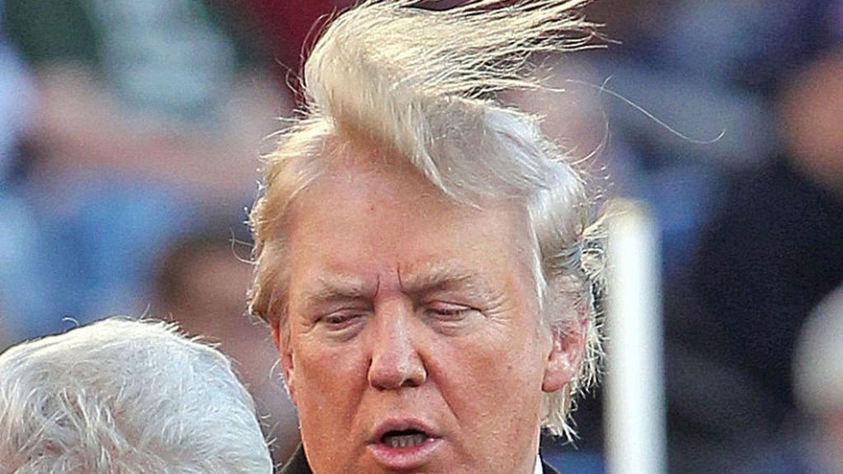 Donald Trump y su peinado