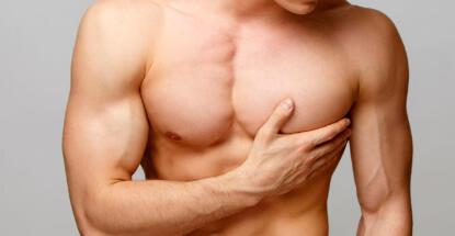 Desarrollo de las mamas en los hombres