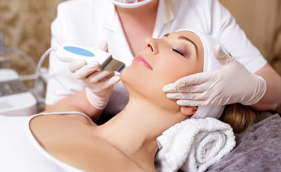 tratamiento de peeling facial